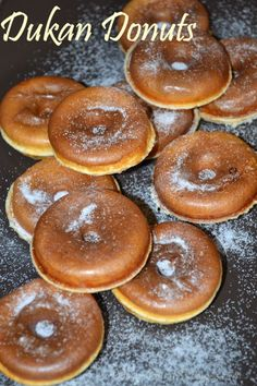 Keith would go crazy if I made these dukan diet donut.Keith would go crazy if I made these dukan Points Plus Recipes, No Carb Recipes, Ducan Diet Recipes, Dukan Diet Attack Phase, Dukan Diet Plan, Wheat Belly Recipes, Donuts, Low Carbohydrate Diet, Diabetic Snacks