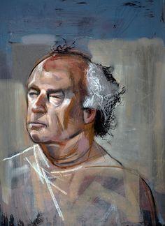 Mike by TOM 8 September, Life Drawing, Thursday, Drawings, Model, Painting, Art, Art Background, Kunst