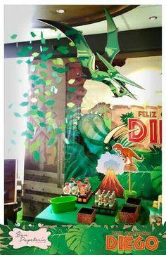 Fiesta Dinosaurios - Decoración