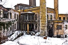 The old, abandoned Brownsville Hospital located in Brownsville, Pa.