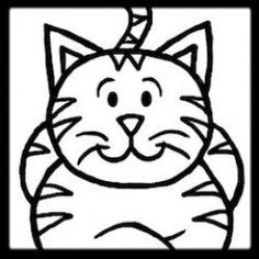 Learn how to draw a cartoon cat step-by-step with this simple tutorial!