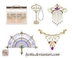 Magic items set lyotta LZ by Lyotta