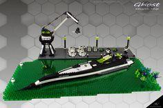 "Projekt ""Blacktron II Special Forces"" Part 6 ""Ghost"" Old Lego Sets, Lego Factory, Lego Building Blocks, Building Ideas, Cool Lego, Awesome Lego, Lego Mechs, Lego Construction, Lego Models"