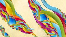 Bright and colorful digital art by Jeremy Young - ego-alterego.com