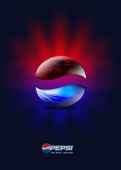 Pepsi logo Pepsi Logo, Black Panther Art, Soda Drink, Logo Sign, Poster Ads, Creative Advertising, Graphic Design Posters, Label Design, Mixed Drinks