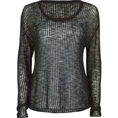 Full Tilt Open Weave Womens Boxy Sweater $24.99
