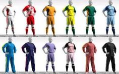 Make your own #football team at #Icorner.com
