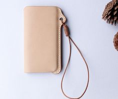 iPhone 5 Leather Case, Handmade Leather Phone Sleeve, iPhone 5 Sleeve, Free Monogramming