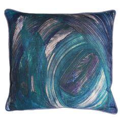 Finger Paint Pillow