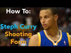 How To: Stephen Curry Shooting Form Basketball Shooting Drills, Basketball Moves, Basketball Tricks, Basketball Is Life, Basketball Leagues, Volleyball Drills, Girls Basketball, Girls Softball, Stephen Curry Haircut