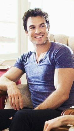 Ian OMG can he get any perfect i have another one of him in that chair