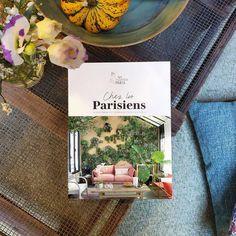 """My Little Paris on Instagram: """"Aujourd'hui, on sort notre dernier livre : Chez les Parisiens. Dedans, un garage-appartement retapé par un brocanteur, un 3 pièces qui…"""" My Little Paris, Hui, Garage, Table Decorations, Instagram, Home Decor, Parisians, Livres, Carport Garage"""