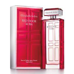 Elizabeth Arden Red Door Aura Eau De Toilette Spray for Women, Oz, Clear Elizabeth Arden Red Door Aura, Elizabeth Arden Perfume, Cologne, Red Door Perfume, Hermes Perfume, Best Perfume, New Fragrances, Perfume Scents, Bottle Design