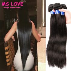Cheap Human Hair Extensions, Buy Directly from China Suppliers:Brazilian Virgin…