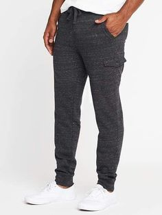 baed76cb Tapered Fleece Cargos for Men Relax Casual Mens Sweatshirts, Hoodies,  Fleece Hoodie, Maternity