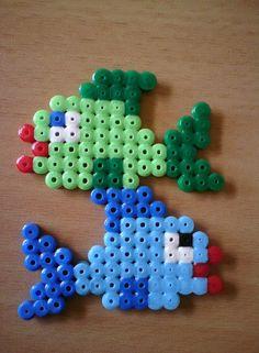 Fish hama beads Bügelperlen by tullemuzz http://mistertrufa.net/librecreacion/culturarte/?p=12