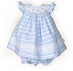 Newborn/Infant Girls' Summer Skies Stripes Float Dress