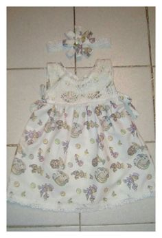 Precious Moment lace baby dress