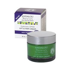 Andalou Naturals Age-Defying Hyaluronic DMAE Lift and Firm Cream – 1.7 fl oz
