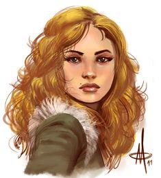 Val - The Wildling Princess by ~mattolsonart on deviantART