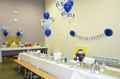 When planning our son's 3rd birthday party, choosing a theme was fairly challenging.....after all, Harrison is a super easy going child that only wants cake and friends at his celebration. So, I...