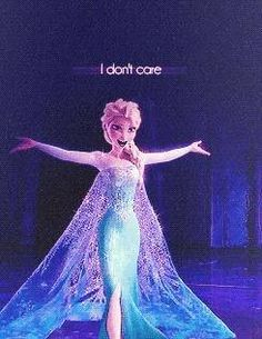 Elsa. Yes, yes, I have days like this