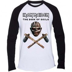 Tricou maneca lunga Iron Maiden: The Book of Souls Axe
