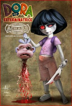 Dora the Exterminatrice- I think we found the name of our next llama.