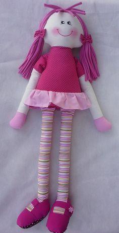 Resultado de imagem para bonecas de pano pernuda passo a passo