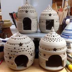 Lanterns - Hopkins White by Mudscapes