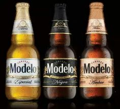 Negra Modelo, Modelo Especial and   Ambar Modelo.. finest beers in Mexico