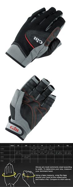 Gloves 114235: New Gill Marine 7241 Short Fingered Champion Sailing Gloves Boat Sailboat -> BUY IT NOW ONLY: $35.95 on eBay!