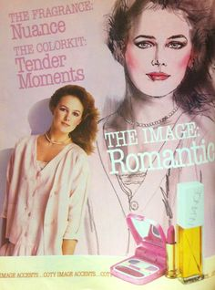 "Coty ""Tender Moments"" Makeup ""Color Kit"" Ad, 1984"