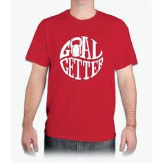 Goal Getter - Mens T-Shirt