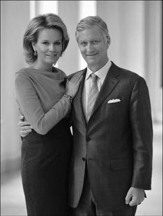 Koningin Mathilde & Koning Filip