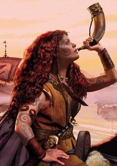 Boudicca, Celtic Warrior Queen.