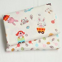New 40cm*50cm 2pcs/lot 100% Cotton fabric costura tecidos algodao para sewing Curtains tissu Handmade DIY Doll quilts Q74