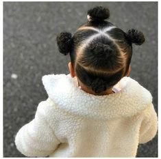 Black Baby Girl Hairstyles, Little Girls Natural Hairstyles, Toddler Braided Hairstyles, Kids Curly Hairstyles, Mixed Baby Hairstyles, Hairstyle For Baby Girl, Infant Hairstyles, Weave Hairstyles, Braids For Kids