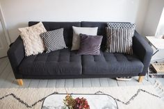 Sofa: £350 in the sale, Habitat. It's funny, we've lived in our flat so long now and were just 'making do' with the existing style, I had almost assumed our living room was finished. Until it actually was. And we feel so liberated. I'm not saying we did a complete overhaul or anything – the …