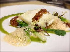 Viceroy Santa Monica's Chef Tony is cooking up turbot, with spring onions and lobster-lemongrass foam at Whist.