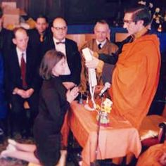 Happy 47th Birthday to the Triratna Buddhist Order. Here's Sangharakshita conducting the first ever ordinations, April 7th 1968. #Triratna | Flickr - Photo Sharing!