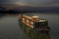 Small ship cruise travels between Vietnam and Cambodia