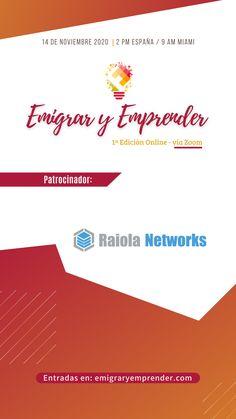 Cerremos el año con broche de ORO Acompáñame 1ª EDICIÓN ONLINE Emigrar y Emprender #EVENTOONLINE 14/11/2020 2pm h Madrid Madrid, Ads, Pray