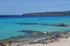 Playa de Tramuntana, Formentera, Spain