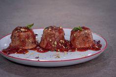 Μίνι πουτίγκες με φιστίκι Αιγίνης. Συνταγή: Βαλεντίνα Αργυροπούλου #σως_φράουλας