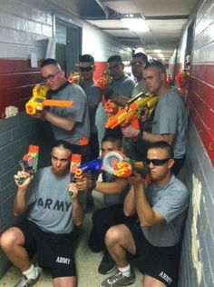 What really happens in the barracks ;) its so sad because thats what we do for entertainment...
