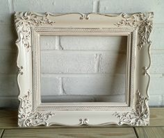 Shabby-chic vintage picture frame - Elsie Rose Homewares