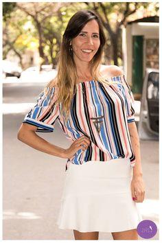 Mais uma blusinha ombro a ombro, estamos in love! #Vemprazas