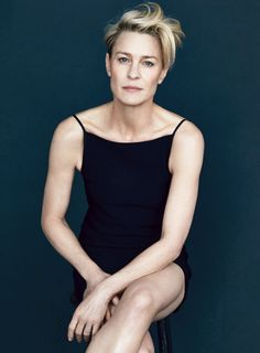 Robin Wright photographed by Patrick Demarchelierfor Vanity Fair, april 2015