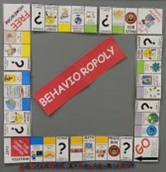 """This is an editable game that was created (inspired by the ever-popular """"Homeworkopoly"""") to use as a classroom behavior/reward system. The cards were created for my Behavioropoly game but they could be used with a variety of positive reinforcement systems or as an alternative to a pize box. The cards were designed to be printed on Avery 8163 labels so you can easily stick them on the front and back of an index card."""
